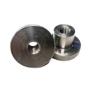 Stainless Knurled Thumb Nut Normal/High Type Grip Knob DIN 466 M2,3,4,5,6,8,10
