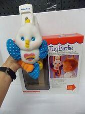 1988 Fisher Price Musical Hug n Tug Birdie Crib / Playpen Toy
