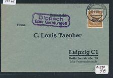 91172) DR > DDR Landpost Ra2 Dippach über Gerstungen, DS 1936
