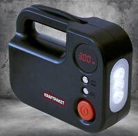 Dino Kraftpaket 2in1 Kompressor mit LED-Lampe 12V 120W Luftpumpe Pumpe 136308