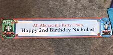 Thomas The Train Happy 2nd Birthday Nicholas Banner