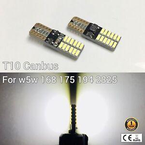T10 194 168 2825 12961 License Plate Light White 24 Canbus LED M1 For Scion M