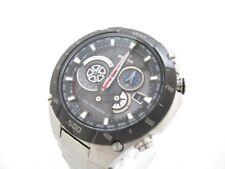 Auth CASIO EDIFICE EQW-M1100 Silver Men's Wrist Watch 084222 002A218U