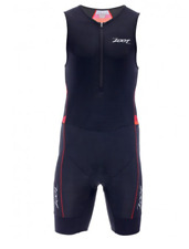 Zoot - Men's Performance Tri Racesuit - Race Day Red Stripe - Extra Large