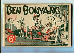 Ben Bowyang Australian comic 50pp Nice Peters Ice Cream advertisement
