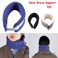Soft Firm Foam Cervical Collar Neck Brace Support Shoulder Press Pain Relief