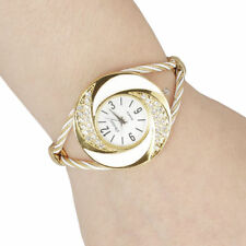 Reloj Pulsera Relojes de mujer de moda Rhinestone Cristal Cuarzo Brazalete Pulsera