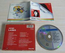 CD ALBUM JE SUIS MALADE SERGE LAMA 12 TITRES 1973 SPECIAL PRICE