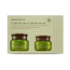 [Sample][Innisfree] The Green Tea Seed Cream & Eye Cream x 5PCS