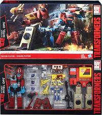 Transformers Hasbro Platinum Ed Autobots Blaster Cassette Perceptor MISB