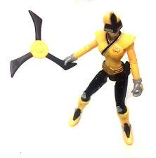 Morphin POWER RANGERS SAMURAI RANGER & Giallo Donna arma giocattolo Figura RARA