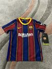 FC Barcelona Home Blue Football Shirt BNWT Size 4-5 Years Old Short Sleeves