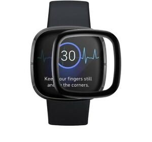 For Fitbit Versa 3 Full Cover Tempered Screen Protector