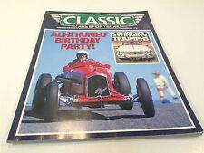 Classic and Sportscar November 1985 Alpha Romeo Triumphs