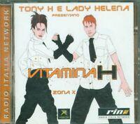 Vitamina H Zona X - Tony H/Datura/Picotto/Farfa/Mario Piu'/Azzido Da Bass Cd Vg