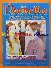rivista ROCKERILLA 131/1991 My Bloody Valentine Guns N'Roses Mandragora No cd *3