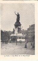 paris ,la place de la république