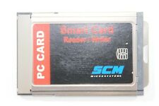 Pcmcia smart card reader writer scm pc CARD scr 201 cartes à puce de lecteurs.