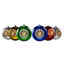 Harry Potter Hogwarts Christmas Baubles Set of 6 NEW