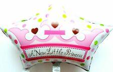 R32F3 XL Helium Folienballon Krone Baby Mädchen Geburt Party Prinzessin Geschenk
