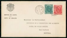 New ListingMayfairstamps Canada 1943 Montreal Station M Compound Stationery to Montreal Cov