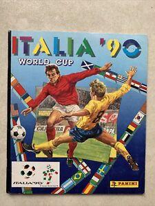 Panini Italia 90 Sticker Album 1990 World Cup