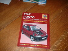 NEW HAYNES MANUAL FOR FIAT PUNTO. 1994 TO 1996. L TO P REGISTRATION.