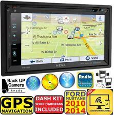 2010-2014 MUSTANG NAVIGATION GPS BLUETOOTH TOUCHSCREEN CD/DVD AUTO Car Stereo