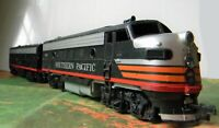 Athearn F7 Heavy Diesel A & B ~ SOUTHERN PACIFIC ~ Black Widow Rd# SP 6169  - HO