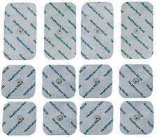 Conjunto mixto decenas Electrodo almohadillas 8 Square Stud Reutilizable almohadillas & 4 grandes Stud almohadillas