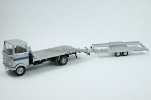 """Mercedes-Benz LP 608 """"Martini"""" with trailer /silver/"""