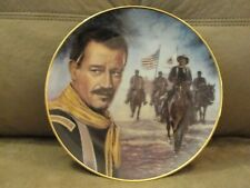 John Wayne Plate - The Ride Home-Certificate of Authenticity included