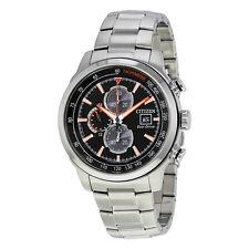 Citizen Chronograph Black Dial Mens Watch CA0574-54E