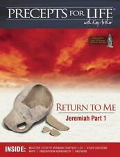 Precepts for Life Study Companion: Return to Me (Jeremiah Part 1) (Paperback or