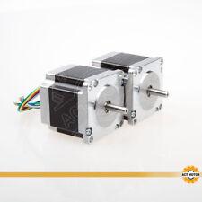 ACT MOTOR GmbH 2PCS Nema23 Stepper Motor 23HS6620 6Leads 2A 56mm 1.26Nmφ 6.35mm