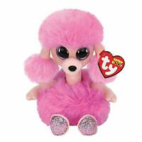 TY BEANIE BABIES BOOS CAMILLA POODLE PLUSH SOFT TOY NEW WITH TAGS