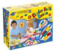 Feuchtmann Kinder Soft Knete 6 x 80g. mit Ausstechförmchen Bunt Creative Box
