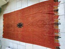 ANCIEN GRAND CHALE EN CACHEMIRE XIXEME   300 CM  X 158 CM