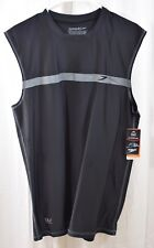 Speedo Men's Startline Sleeveless UV Protection Rashguard Swim Shirt Size XL