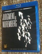 JUDGMENT AT NUREMBERG BLU-RAY, NEW & SEALED, REGION FREE, TWILIGHT TIME LTD. ED.