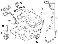 LAND ROVER LR026191 GENUINE OEM LEVEL SENSOR