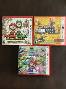 nintendo 3ds games bundle