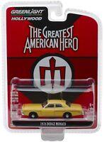 1:64 GreenLight *HOLLYWOOD R21* THE GREATEST AMERICAN HERO 1978 Dodge Monaco NIP