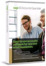 Sage 50 Accounts Essentials 2018 Latest Version 24 - Bargain price