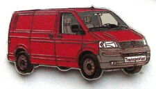 VW Bus T5 - Transporter - Pin / Anstecker Rot - NEU