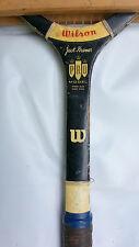 Tennis Racket Jack Kramer Wilson Pro mOdel Rare 1970s Vintage Wooden