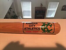 """Kansas City Oakland Athletics A's Full Size 34"""" Cooperston Bat w Tags Very Rare"""