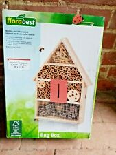 BUG HOUSE. WOODEN INSECT HOTEL. FLORABEST, TOP BRAND