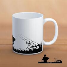 CARP MUG Fishing landscape mug mug-novelty mug for DAD or Fisherman friend
