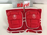 ROYAL GINOCCHIERE EG068 PALLAVOLO ROSSO VOLLEYBALL KNEE PAD  RED P.AR